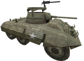 M8 Greyhound cut WaW