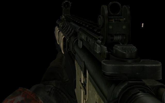 File:M4A1 Shotgun MW2.png