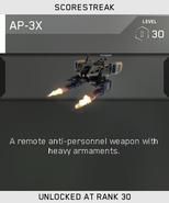 AP-3X Unlock Card IW