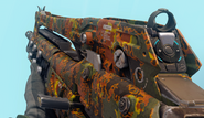 M8A7 First Person Flectarn Camouflage BO3