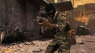 Soldier holding an AK-74u Shattered CODBOD