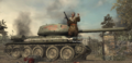 Reznov Standing on T-34 WaW.png