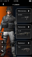 Call of Duty (app) Class Selection