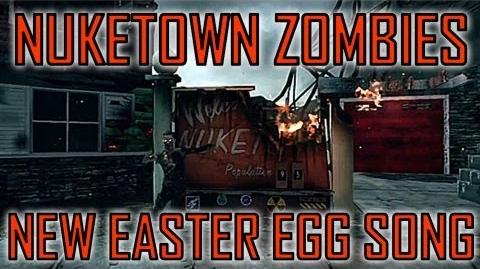 Black Ops 2 New Nuketown Zombies Easter Egg