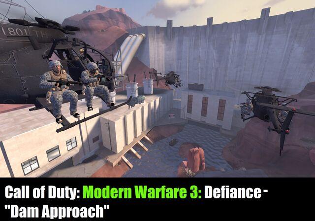 File:Personal Geekius Maximus Modern Warfare 3 Defiance - Dam Approach.jpeg