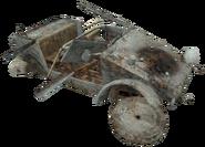 Kubelwagen destroyed CoD2