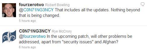 Twitter update March 2 2011