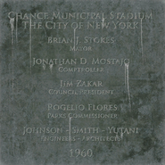 Stadium plaque BO