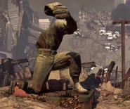 Strikezone statue after K.E.M. Strike CODG