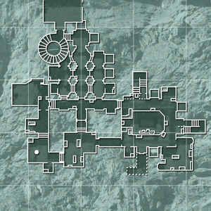 Stronghold dungeon minimap MW3
