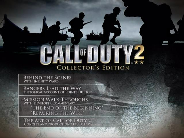 File:CoD2 Special Edition Bonus DVD - main menu.png