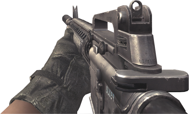 File:M16A4 Silencer CoD4.png