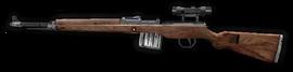 Gewehr 43 Sniper Scope Side FH