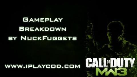MW3 Gameplay Team Deathmatch w Spas on Underground