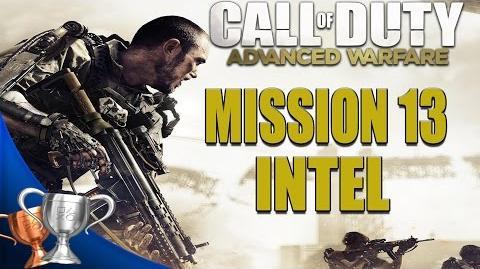 Call of Duty Advanced Warfare - All Intel Locations - Mission 13
