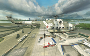 Mi-8 dropping troops No Russian MW2