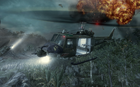 Huey going down Crash Site BO
