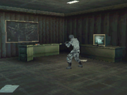 Inside the guard post Mw3DS