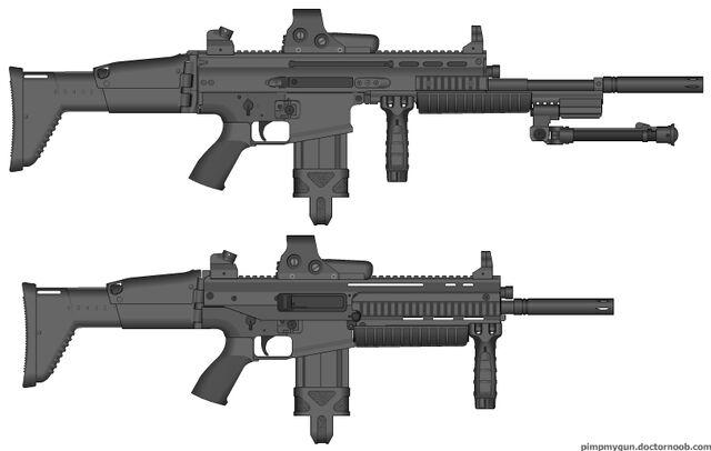 File:SCAR-H Mod. 3 Infantry Rifles.jpg