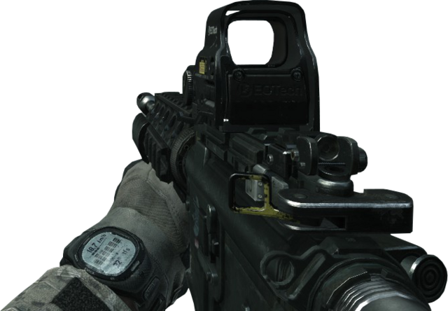 File:M4A1 Holographic Sight MW3.png