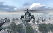 AH-64 Apache front view Team Player MW2