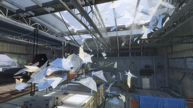 File:AdvancedRookie Radiation warehouse ceiling glass shattering.png