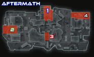 Aftermath Hardpoint locations BOII