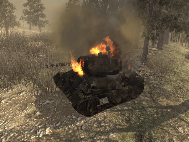 File:Destroyed T-34 WAW.png