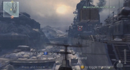 Recon Drone in air Arctic Recon MW3
