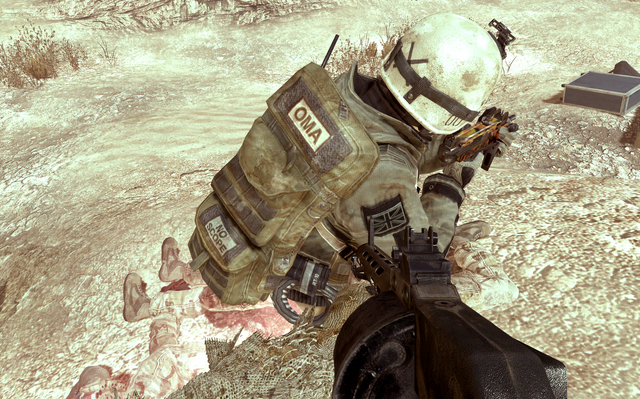 File:One Man Army Bag on TF141 member's back.png