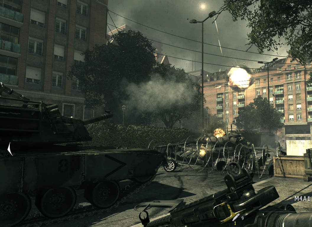 Image - Abrams firing shell Goalpost MW3.png   Call of ...