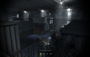 Overview of second hull atrium and enemies Crew Expendable CoD4