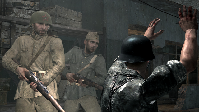 File:Soviet soldiers executing German prisoner Eviction WaW.png