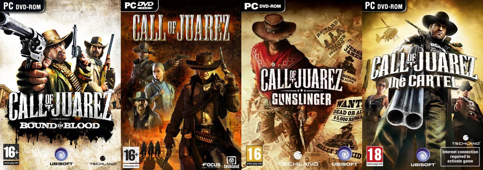 Об игре: История Call of Juarez: Картель начинается с взрыва.