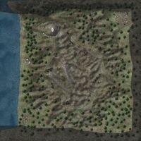 Modernagrav map