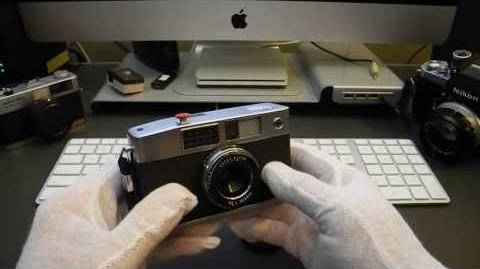 1961 Ricoh Caddy Half-Frame Camera