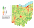Ohio population map.png