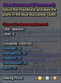 Blue Buccaneer Description