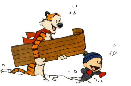 toboggan the calvin and hobbes wiki fandom powered by superbowl clip art 2018 super bowl clipart png