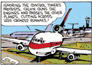 Calvin the Airline Pilot 3