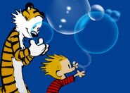 Calvin&HobbesBubbles