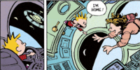 Calvin with Life of Pizzazz