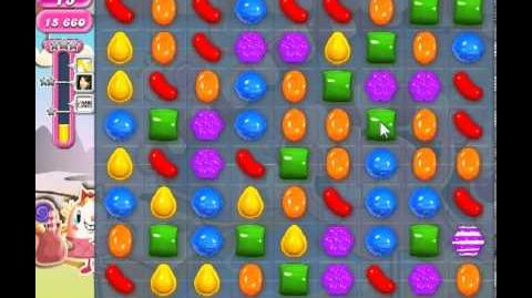 Candy Crush Saga Level 83 - 1 Star - no boosters