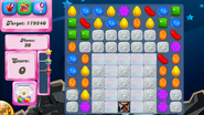 Level 100 mobile new colour scheme with sugar drops (after candies settle)
