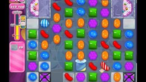 Candy Crush Saga Level 1986 ( New with 30 Moves and More Jellies ) No Boosters 2 Stars