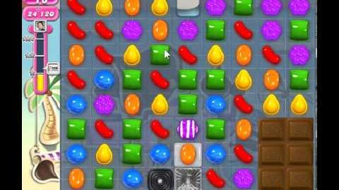 Candy Crush Saga Level 118 - 2 Star - no boosters