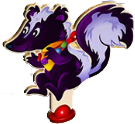 Skunk character after