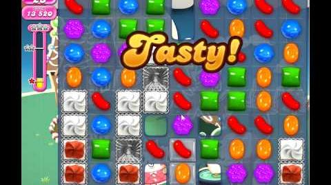 Candy Crush Saga Level 154 NB 3 Stars