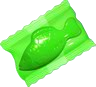 Jelly Fish Green (Wrapped)
