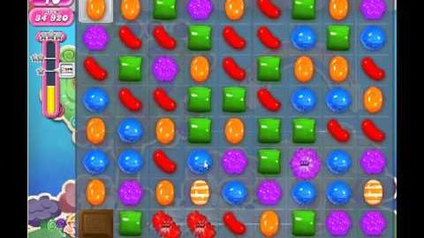 Candy Crush Saga Level 63 - 2 Star - no boosters